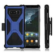 Eclipse Legend Rugged Armor Case and Holster for Samsung Galaxy Note 8 - Blue