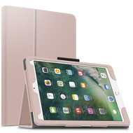 Leather Portfolio Smart Case for iPad Pro 10.5 inch - Rose Gold