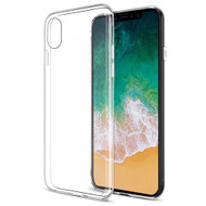 Rubberized Crystal Case for iPhone X - Clear