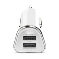 HyperGear High Power Dual USB 3.4A Car Charger - White