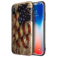 Graphic Rubberized Protective Gel Case for iPhone X - Glory USA