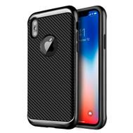 *Sale* Tough Elegance Bumper Frame Hybrid Case for iPhone X - Black