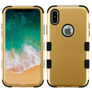 *Sale* Military Grade Certified TUFF Hybrid Armor Case for iPhone X - Gold