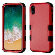 *Sale* Military Grade Certified TUFF Hybrid Armor Case for iPhone X - Red