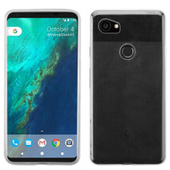 Rubberized Crystal Case for Google Pixel 2 XL - Clear