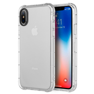 Duraproof Transparent Anti-Shock TPU Case for iPhone X - Clear