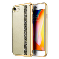 *Sale* Diamond Belt Collection Electroplated TPU Case for iPhone 8 / 7 - Gold