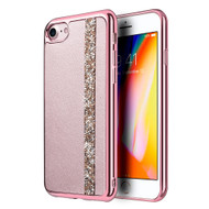 *Sale* Diamond Belt Collection Electroplated TPU Case for iPhone 8 / 7 - Rose Gold