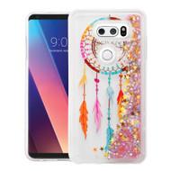 Quicksand Glitter Transparent Case for LG V30 / V30+ - Dreamcatcher