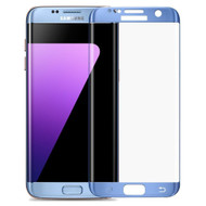 *SALE* HD Curved Coverage Premium Tempered Glass Screen Protector for Samsung Galaxy S7 Edge - Coral Blue
