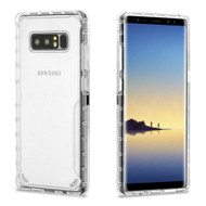 Ultra Hybrid Shock Absorbent Crystal Case for Samsung Galaxy Note 8 - Clear