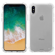 Klarity Premium Transparent Anti-Shock TPU Case for iPhone X - Clear