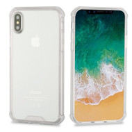 Polymer Transparent Hybrid Case for iPhone X - Clear 141