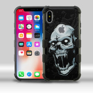 Military Grade Certified TUFF Merge Image Hybrid Armor Case for iPhone X - Vampire