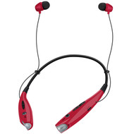 HyperGear Freedom BT100 Bluetooth 4.1 Wireless Headphones - Red