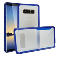 *Sale* Ultra Hybrid Shock Absorbent Crystal Case for Samsung Galaxy Note 8 - Blue