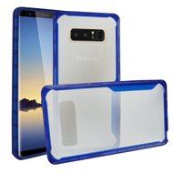 Ultra Hybrid Shock Absorbent Crystal Case for Samsung Galaxy Note 8 - Blue