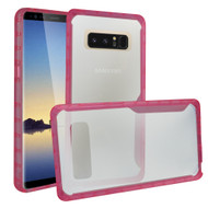 Ultra Hybrid Shock Absorbent Crystal Case for Samsung Galaxy Note 8 - Pink