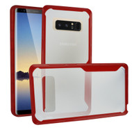 *Sale* Ultra Hybrid Shock Absorbent Crystal Case for Samsung Galaxy Note 8 - Red