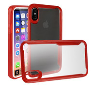 *Sale* Ultra Hybrid Shock Absorbent Crystal Case for iPhone X - Red
