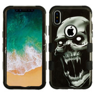 Military Grade Certified TUFF Image Hybrid Armor Case for iPhone X - Vampire