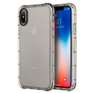 Duraproof Transparent Anti-Shock TPU Case for iPhone X - Smoke