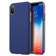 *Sale* Sublime Dual Layer Hybrid Case for iPhone X - Navy Blue
