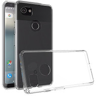 Polymer Transparent Hybrid Case for Google Pixel 2 XL - Clear