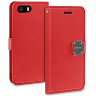 Essential Leather Wallet Case for iPhone 8 / 7 - Red