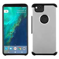 Hybrid Multi-Layer Armor Case for Google Pixel 2 - Silver