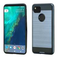 Brushed Hybrid Armor Case for Google Pixel 2 XL - Ink Blue