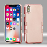 TUFF Panoview Hybrid Case for iPhone X - Rose Gold