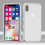 TUFF Panoview Transparent Hybrid Case for iPhone X - Clear