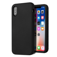 Verge Hybrid Armor Case for iPhone X - Black