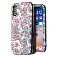 Verge Hybrid Armor Case for iPhone X - Persian Paisley