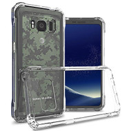 Polymer Transparent Hybrid Case for Samsung Galaxy S8 Active - Clear