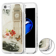 Air Cushion Shockproof Crystal TPU Case for iPhone 8 / 7 - Big Ben