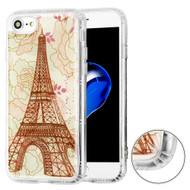 *Sale* Air Cushion Shockproof Crystal TPU Case for iPhone 8 / 7 - Eiffel Tower