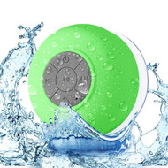Portable Waterproof Bluetooth Wireless Speaker with Built-In Mic - Green