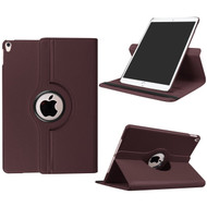 360 Rotating Leather Hybrid Case for iPad Pro 10.5 inch - Brown