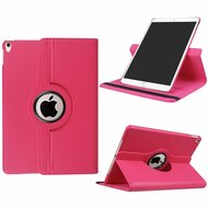 *Sale* 360 Rotating Leather Hybrid Case for iPad Pro 10.5 inch - Hot Pink