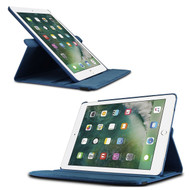 360 Rotating Leather Hybrid Case for iPad Pro 9.7 inch / iPad Air 2 - Navy Blue
