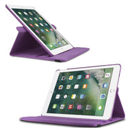 360 Rotating Leather Hybrid Case for iPad Pro 9.7 inch / iPad Air 2 - Purple