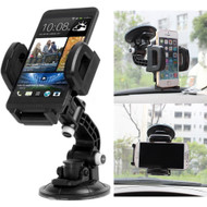 Adjustable Car Windshield Holder Mount - Black
