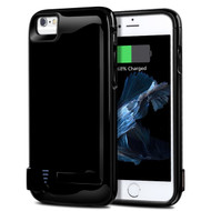 Power Bank Battery Case 5800mAh with External USB Charging Port for iPhone 8 / 7 / 6S / 6 - Black