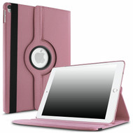 360 Degree Smart Rotating Leather Case for iPad Pro 12.9 inch (1st and 2nd Generation) - Pink