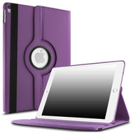 360 Degree Smart Rotating Leather Case for iPad Pro 12.9 inch (1st and 2nd Generation) - Purple