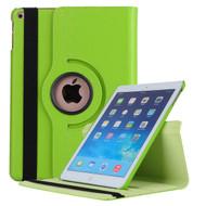 360 Degree Smart Rotating Leather Case for iPad (2017) / iPad Air / iPad Air 2 - Green