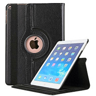 360 Degree Smart Rotating Leather Case for iPad (2017) / iPad Air / iPad Air 2 - Black