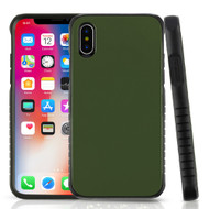 Tough Anti-Shock Hybrid Protection Case for iPhone X - Army Green